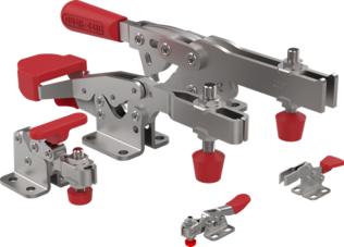 horizontal hold down clamps